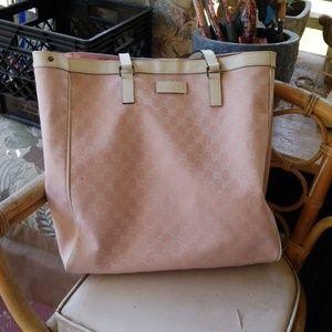 Pink Gucci Tote